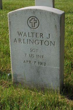 Sgt Walter J. Arlington