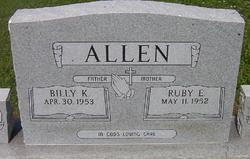 Ruby E <I>Rodgers</I> Allen