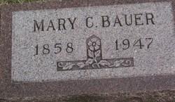 Mary Caroline <I>Gebhard</I> Bauer