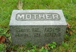 Martha A <I>Baker</I> Yopst