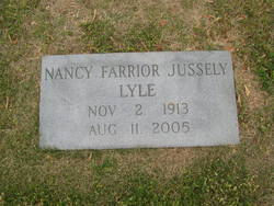 Nancy Farrior <I>Jussely</I> Lyle