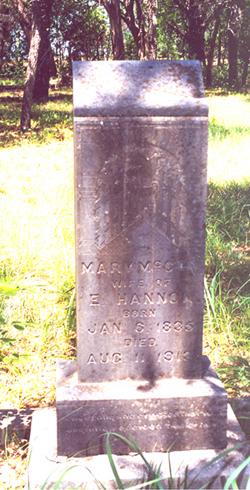 Mary <I>McCoy</I> Hannon
