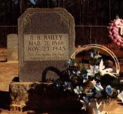 "Robert Bradshaw ""Bob"" Bailey"