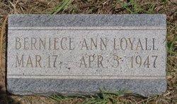 Bernice Ann Loyall
