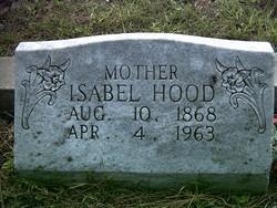 Isabel <I>Cameron</I> Hood