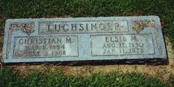 Elsie Matilda <I>Bull</I> Luchsinger