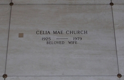 Celia Mae <I>Dotson</I> Church