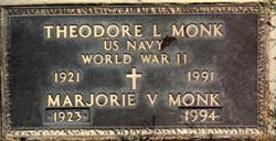 Marjorie Violet <I>Howell</I> Monk
