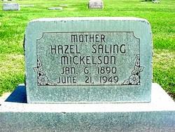 Hazel <I>Saling</I> Mickelson