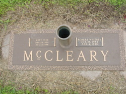 Mary Jane <I>Parks</I> McCleary