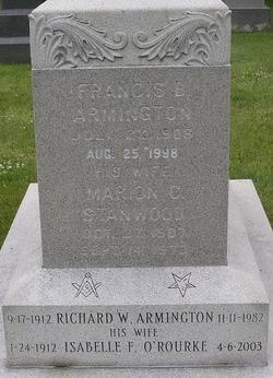 Marion C. <I>Stanwood</I> Armington