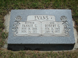 Fannie <I>Gardiner</I> Evans