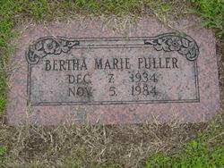 Bertha Marie <I>Hagler</I> Fuller