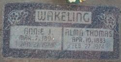 Alma Thomas Wakeling