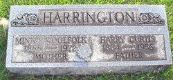 Minnie Fleming <I>Woolfolk</I> Harrington