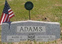 "Katherine Louise ""Kate"" <I>Ford</I> Adams"