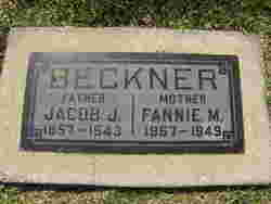Fannie M <I>Shelly</I> Beckner