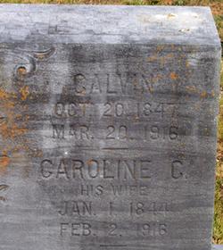 Caroline C. <I>Huffman</I> Abee
