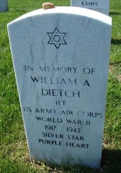 1LT William A Dietch