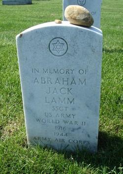SSGT Abraham Jack Lamm