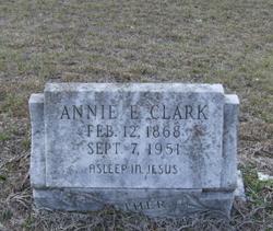 """Annie E. """"Ma Clark"""" <I>Shows</I> Clark"""