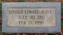 Donald Edward Albert