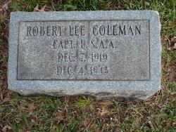 Capt Robert Lee Coleman