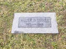 Walter D Cooper
