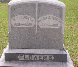 Martha Susan <I>Clark</I> Flowers