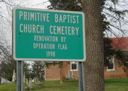 Primitive Baptist Church Cemetery