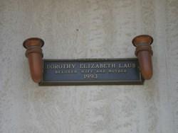 "Dorothy Elizabeth ""Dottie"" <I>Kay</I> Laub"