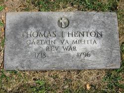 Capt Thomas I Henton