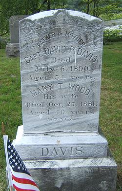 Mary T <I>Wood</I> Davis