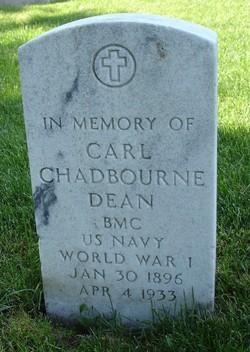 Carl Chadbourne Dean