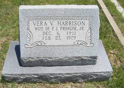 Vera Vaughn <I>Harrison</I> Pronger