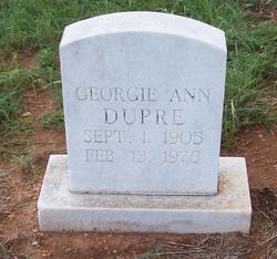 Georgie Ann Dupre