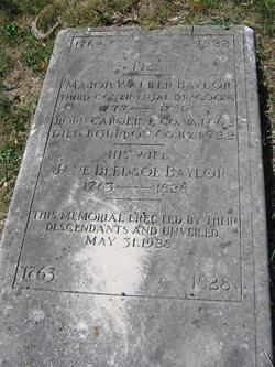 Jane <I>Bledsoe</I> Baylor