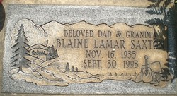 Blaine Lamar Saxton