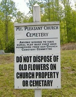 Mount Pleasant Church Cemetery #2