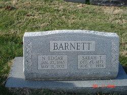"""Sarah J """"Sadie"""" <I>Towne</I> Barnett"""