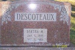 Bertha Marie <I>Hill</I> Descoteaux