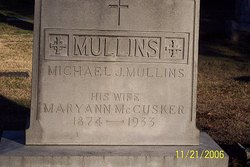Maryann <I>McCusker</I> Mullins