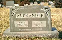 Olive Lavinia <I>Moran</I> Alexander
