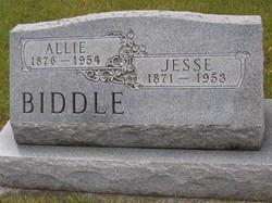 Allie <I>Growcock</I> Biddle