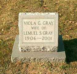 Viola <I>Gill</I> Gray