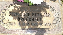 Stephanie Beth Jex Broadbent