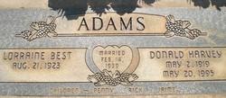 Donald Harvey Adams