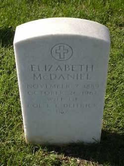 Elizabeth Mcdaniel Deitrick
