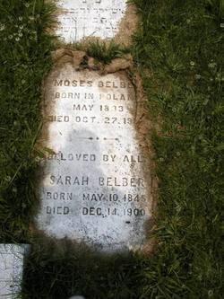 Sarah <I>Becker</I> Belber