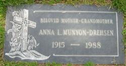 Anna Louise <I>Reinking</I> Munyon-Drehsen